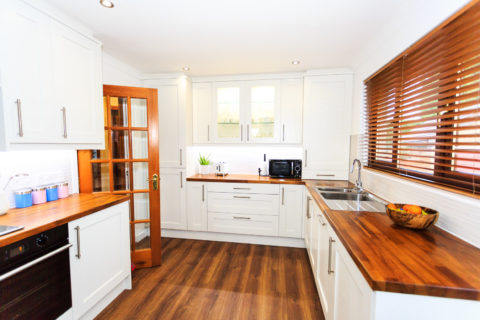 Kitchen Renovation with Integrated Living Space